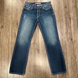 BKE Drew Stretch Boot Cut Jeans 26 x 29.5